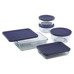 Pyrex 10 Piece Simply Store Food Storage Set, Clear >>> Click image to review more details.