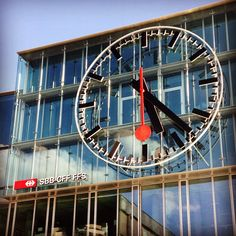 Aarau Main Station - Switzerland As Time Goes By, Switzerland, Maine, Germany, Fair Grounds, Swiss Railways, Italy, Telling Time, Country