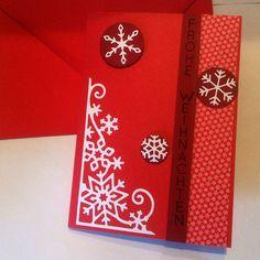 blog.karten-kunst.de - Gastbeitrag Nr. 1 von Ringelregards.  Karten-Kunst Clear Stamp Set Vertikale Worte II, Poppy Stamps Stanzschablone Valley Snowflakes