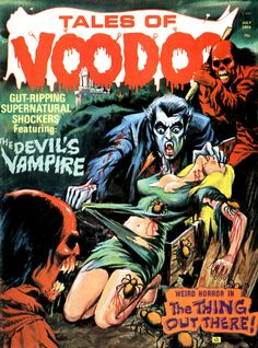 Tales of Voodoo (Eerie Publications, 1968 - 74)
