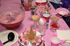 Icecream, Chocolate Fondue, Cake, Party, Desserts, Food, Pie Cake, Ice Cream, Meal