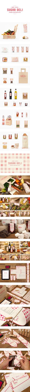 Pack 2 Deli branding and design