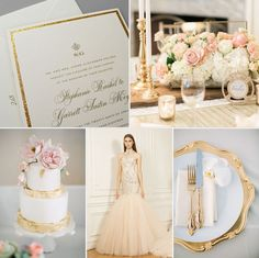 'Regal' classic wedding invitation goes glam with gold glitter accents. Shop this design in-store: http://www.kleinfeldpaper.com/retailer_locator.cfm
