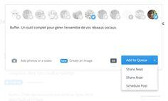 Buffer. Gérer et programmer vos publications sur les réseaux sociaux. #cm