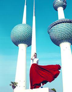 KUWAIT COLORS by Jose Herrera, via Behance