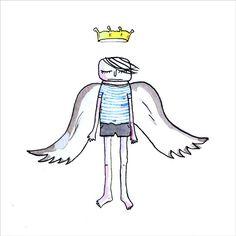 ANGEL CAIDO by Mamen Urquía
