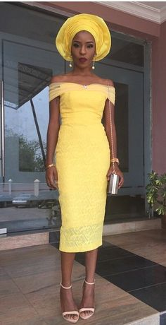 Collective African Designs: #ShadesofYellow