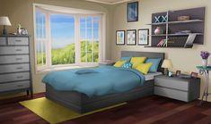 anime bedroom backgrounds bed living episode cartoon wallpapers interactive night аниме scenery cyberpunk 2069 animation mha
