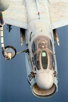 rocketumbl:  A-7E Corsair II