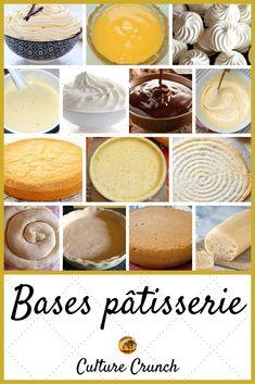 Basics in pastry. Easy Vanilla Cake Recipe, Chocolate Cake Recipe Easy, Chocolate Desserts, Chocolate Oreo, Oreo Cake Pops, Dessert Party, Elegante Desserts, Brookies Recipe, Cake Recipes From Scratch