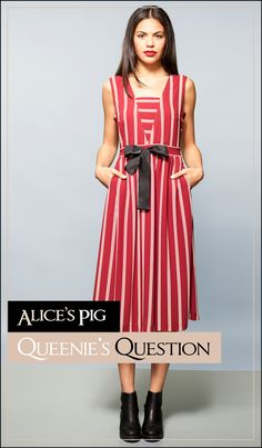 19ce0530f4ff  The casual socialite  - Our sleeveless Queenie s Question is an elegant  and versatile midi