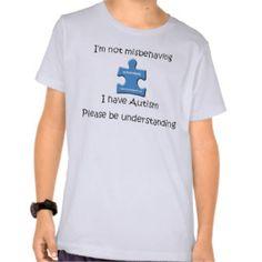 Autism T-Shirts, Autism Shirts & Custom Autism Clothing