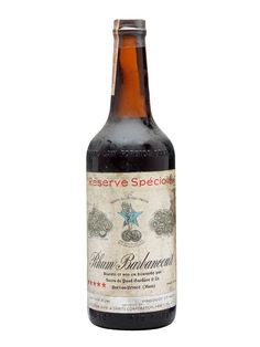 Barbancourt 5 Star Rum / Reserve Speciale / Bot.1940s : Buy Online - The Whisky Exchange - An old and well preserved bottle of 5 star rum from Haiti's much love Barbancourt distillery, bottled back in the 1940s.
