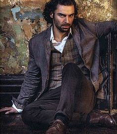 """Aidan Turner for """"Radio Times"""" - (photo by Sarah Dunn). It's just not fair that he's so handsome, his brooding gaze makes me weak at the knees and this is just a photo. Guys this hot should be sent to me, so I can Deal with them! Aidan Turner Poldark, Ross Poldark, Poldark 2015, Poldark Cast, Demelza Poldark, Aiden Turner, Will Turner, Divas, Moda Masculina"""
