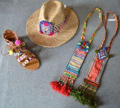 Ibiza boho style accessories