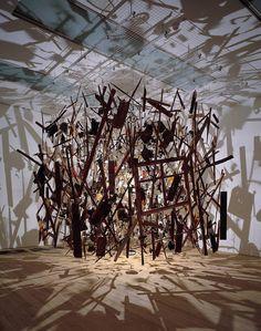 Cold Dark Matter: An Exploded View, 1991 Cornelia Parker