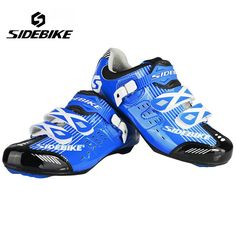 SIDEBIKE Professional Bicycle Cycling Shoes Men Road Bike Shoes Wear-resistance Ultralight Shoes Sapatilha Ciclismo Zapatillas