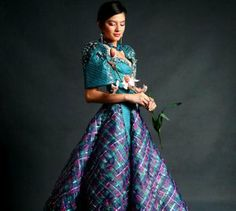 Traditional Filipino Maria Clara Dress This image has been resized to Maria Clara Dress Philippines, Philippines Dress, Philippines Fashion, Philippines Culture, Philippines People, Modern Filipiniana Gown, Filipiniana Wedding, Khmer Wedding, Filipino Fashion