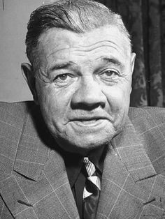 """Babe Ruth - """"He didn't have to Lie"""". Baseball Live, New York Yankees Baseball, Ny Yankees, Baseball Field, Baseball Stuff, Cincinnati Baseball, Yankees Baby, Damn Yankees, Baseball Quotes"""