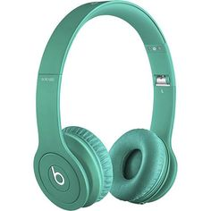 Beats by Dr. Dre - Beats Solo HD On-Ear Headphones - Drenched in Teal - Angle