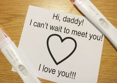 #Creative ways to tell your #husband that you're #Pregnant