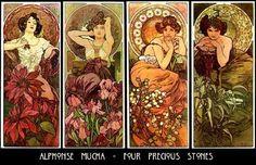 Alphonse Mucha- Seasons