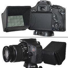 LCD Screen Hood Protector for Canon EOS 1200D 750D 700D 600D 100D DSLR Camera