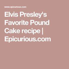 Pound Cakes on Pinterest | Pound cakes, Million dollar pound cake ...