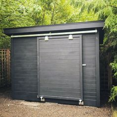 Top 60 Best Backyard Shed Ideas - Outdoor Storage Spaces - Modern Design Backyard Storage Sheds, Garden Storage Shed, Backyard Sheds, Outdoor Sheds, Backyard Door, Outside Storage Shed, Playhouse Outdoor, Outdoor Toys, Garden Sheds