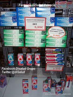 DiSalud Espacio #Dental Dentabrit+Oraldine. Farmacia DiSalud promueve la Salud Dental y Bucal *Más info: www.facebook.com/... ; twitter.com/disalud ; disalud.tumblr.com/
