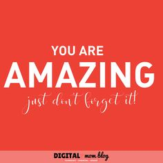 You are amazing - just don't forget it. inspirational quotes for moms. Read these on hard mom days Care Quotes, Mom Quotes, Quotes To Live By, Best Quotes, Lessons Learned In Life, Life Lessons, Inspirational Quotes For Moms, Feeling Like A Failure, Quotes About Motherhood