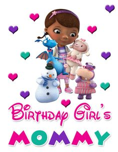 Hey, I found this really awesome Etsy listing at https://www.etsy.com/listing/223550342/doc-mcstuffins-mom-of-the-birthday-girl