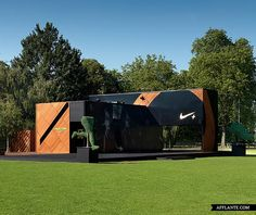 Nike+ Fuelstation Clubhouse @ Clapham Common | Afflante.com