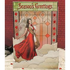 Project Of The Month August - Angels Scene Card