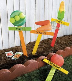 Vegetable Garden Stakes: General Craft Projects: Shop | Joann.com