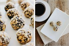 ALMOND DATE TRUFFLES - SPROUTED KITCHEN - A Tastier Take on Whole Foods by @Sara Forte