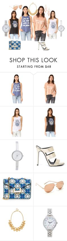 """""""latest fashion collection"""" by monica022 ❤ liked on Polyvore featuring Spiritual Gangster, Lolli, DKNY, Giuseppe Zanotti, MayraFedane, Linda Farrow, Kate Spade, Marc Jacobs and vintage"""