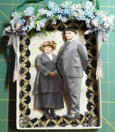 Mrs. Patmore and Mr. Carson