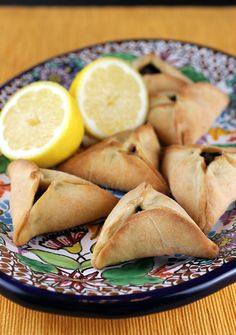 Middle Eastern Spinach Turnover Recipe by An Edible Mosaic via @Carolyn Jung