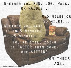 So until I get off the couch (and pinterest) people are going faster than me... oh dear.