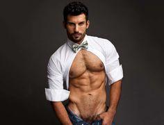 Male supermodel Jose Parra