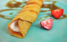 Pfannkuchen oder Palatschinken: vegan und vollwertig