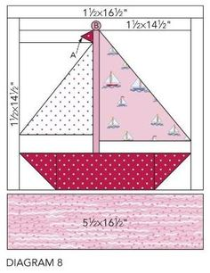 Nautical quilt block - do this as a paper craft by therese