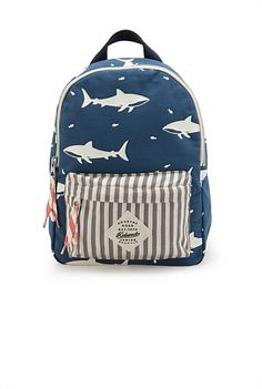 Anchor Me Shark Back Pack $55.00 Country Road