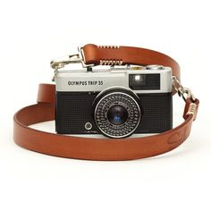 Handmade Leather Camera Strap Brown More
