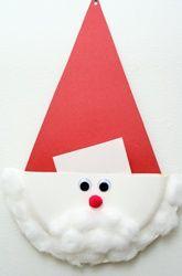 First Grade Christmas Activities: Make a Santa Wish List Holder christmas-crafts-games-snacks