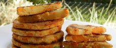 Recept Mrkvovo-bramborové placky Vegetables, Food, Essen, Vegetable Recipes, Meals, Yemek, Veggies, Eten