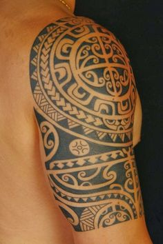 The tribal tattoo design has been popular among women and men, but the Maori tribal tattoo design has gained it's popularity recently. The Maori tattoo is
