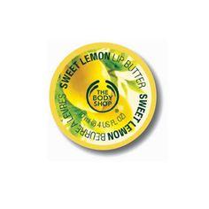 Sweet Lemon Lip Butter | The Body Shop ®