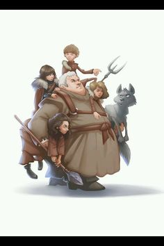 Hodor's army - Game of Thrones
